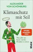 Cover-Bild zu von Schönburg, Alexander: Klimaschutz mit Stil