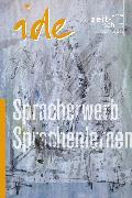 Cover-Bild zu Esterl, Ursula (Hrsg.): Spracherwerb und Sprachenlernen (eBook)