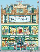 Cover-Bild zu Mein Stickerbuch: Im Spielzeugladen von Reid, Struan