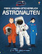 Cover-Bild zu Mein Anzieh-Stickerbuch: Astronauten von Reid, Struan