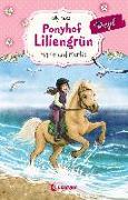 Cover-Bild zu Ponyhof Liliengrün Royal 1 - Marie und Merlin von McKain, Kelly