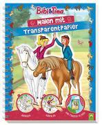Cover-Bild zu Bibi & Tina - Malen mit Transparentpapier