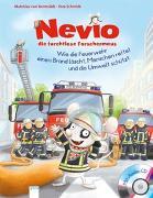 Cover-Bild zu Nevio, die furchtlose Forschermaus. Wie die Feuerwehr einen Brand löscht, Menschen rettet und die Umwelt schützt von Bornstädt, Matthias von