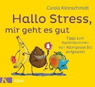 Cover-Bild zu Hallo Stress, mir geht es gut von Kleinschmidt, Carola