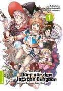 Cover-Bild zu Ein Landei aus dem Dorf vor dem letzten Dungeon sucht das Abenteuer in der Stadt 01 von Satou, Toshio