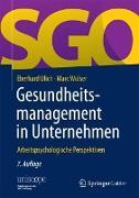Cover-Bild zu Gesundheitsmanagement in Unternehmen von Ulich, Eberhard