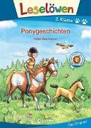Cover-Bild zu Leselöwen 2. Klasse - Ponygeschichten von Wiechmann, Heike (Illustr.)