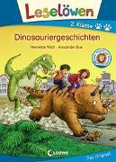 Cover-Bild zu Leselöwen 2. Klasse - Dinosauriergeschichten von Wich, Henriette