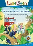 Cover-Bild zu Leselöwen 2. Klasse - Feuerwehrgeschichten von Moser, Annette