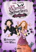 Cover-Bild zu Die Vampirschwestern black & pink 1 - Halbvampire wider Willen von Fendrich, Nadja