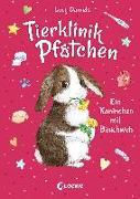 Cover-Bild zu Tierklinik Pfötchen 2 - Ein Kaninchen mit Bauchweh von Daniels, Lucy