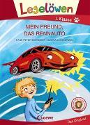 Cover-Bild zu Leselöwen 1. Klasse - Mein Freund, das Rennauto von Schneider, Hans-Peter