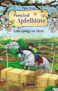 Cover-Bild zu Ponyhof Apfelblüte 16 - Lena springt ins Glück von Young, Pippa