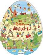 Cover-Bild zu Das Riesen-Wimmel-Ei von Korthues, Barbara (Illustr.)