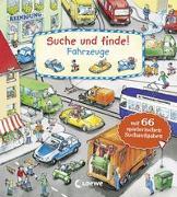 Cover-Bild zu Suche und finde! - Fahrzeuge von Loewe Meine allerersten Bücher (Hrsg.)