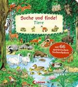 Cover-Bild zu Suche und finde! - Tiere von Loewe Meine allerersten Bücher (Hrsg.)