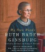 Cover-Bild zu Ginsburg, Ruth Bader: My Own Words