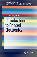 Cover-Bild zu Suganuma, Katsuaki: Introduction to Printed Electronics