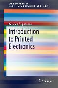 Cover-Bild zu Suganuma, Katsuaki: Introduction to Printed Electronics (eBook)