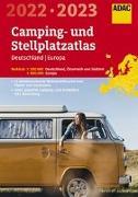 Cover-Bild zu ADAC Camping- und StellplatzAtlas2022/23 Deutschland 1:300 000, Europa 1:800 000. 1:200'000