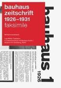 Cover-Bild zu Müller, Lars (Hrsg.): bauhaus zeitschrift 1926 - 1931