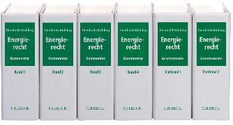 Cover-Bild zu Ahnis, Erik (Weitere Bearb.): Energierecht - Energierecht