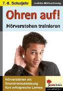 Cover-Bild zu Ohren auf! - Hörverstehen trainieren 7.-9. Schuljahr