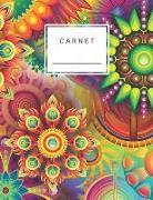 Cover-Bild zu Carnet: Ligné Et Numéroté 120 Pages Avec Des Lignes Grises Format Lettre 8,5 X 11 - Format A4 (Journal, Cahier, Agenda, Livre von Notes, Perfect
