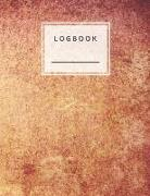 Cover-Bild zu Logbook: Log Book Lined and Numbered 120 Pages with Grey Lines Letter Size 8.5 X 11 - A4 Size (Journal, Notes, Notebook, Diary von Notes, Perfect