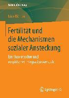 Cover-Bild zu Richter, Nico: Fertilität und die Mechanismen sozialer Ansteckung