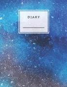 Cover-Bild zu Diary: Lined and Numbered 120 Pages with Grey Lines Letter Size 8.5 X 11 - A4 Size (Journal, Notes, Notebook, Diary, Composit von Notes, Perfect