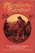 Cover-Bild zu Alpenhorn-Kalender 2020
