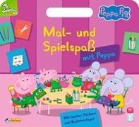 Cover-Bild zu Peppa: Mal- und Spielspaß mit Peppa