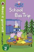 Cover-Bild zu Peppa Pig: School Bus Trip - Read it yourself with Ladybird