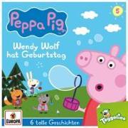 Cover-Bild zu Peppa Pig Hörspiele 05. Wendy Wolf hat Geburtstag (und 5 weitere Geschichten)