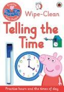 Cover-Bild zu Peppa Pig: Practise with Peppa: Wipe-Clean Telling the Time von Peppa Pig