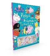 Cover-Bild zu Peppa Pig: Peppa and Friends Magnet Book von Peppa Pig
