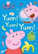 Cover-Bild zu Peppa Pig: Yum! Yum! Yum! Sticker Activity Book von Peppa Pig