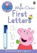 Cover-Bild zu Peppa Pig: Practise with Peppa: Wipe-Clean First Letters von Peppa Pig