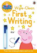 Cover-Bild zu Peppa Pig: Practise with Peppa: Wipe-Clean First Writing von Peppa Pig