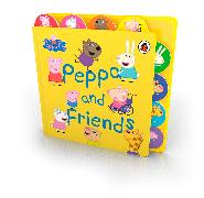 Cover-Bild zu Peppa Pig: Peppa and Friends von Peppa Pig