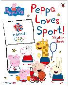 Cover-Bild zu Peppa Pig: Peppa Loves Sport! Sticker Book von Peppa Pig