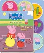 Cover-Bild zu Peppa Pig: Zieh und Schau - Meine bunte Welt