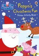 Cover-Bild zu Peppa Pig: Peppa's Christmas Fun Sticker Activity Book von Peppa Pig