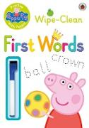 Cover-Bild zu Peppa Pig: Practise with Peppa: Wipe-Clean First Words von Peppa Pig