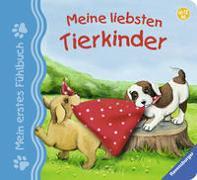 Cover-Bild zu Mein erstes Fühlbuch: Meine liebsten Tierkinder von Grimm, Sandra