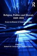 Cover-Bild zu Religion, Politics and Dissent, 1660-1832 (eBook) von Cornwall, Robert D.
