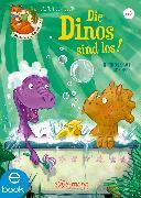 Cover-Bild zu Der kleine Fuchs liest vor. Die Dinos sind los! (eBook) von Schaudinn, Jasmin