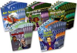 Cover-Bild zu Burchett, Jan: Project X Origins: Brown Book Band, Oxford Level 11: Heroes and Villains: Class Pack of 30