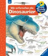 Cover-Bild zu Wir erforschen die Dinosaurier von Weinhold, Angela